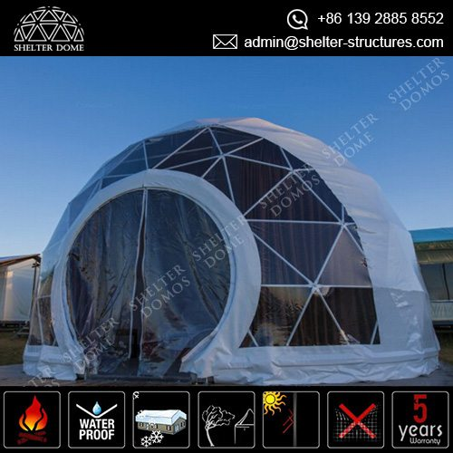 geodesic-dome-camping-campsite