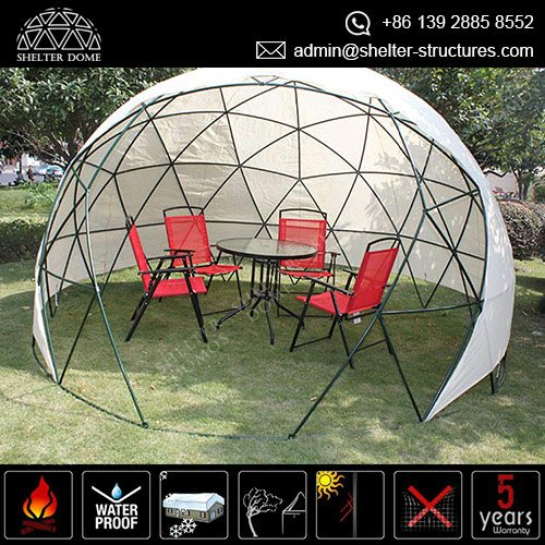 Backyard Dome garden igloo geodesic dome in all sizes for sale - shelter dome