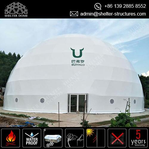 custom-geodesic-dome-shelter-as-gymnasium