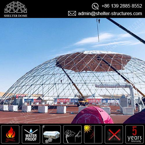 50m Large Dome for Carnival Event - Festival Dome - Projection Dome - Geodesic Event Tent  sc 1 st  Shelter Dome & Large Dome Tent for Movie Theme Camp - Shelter Dome