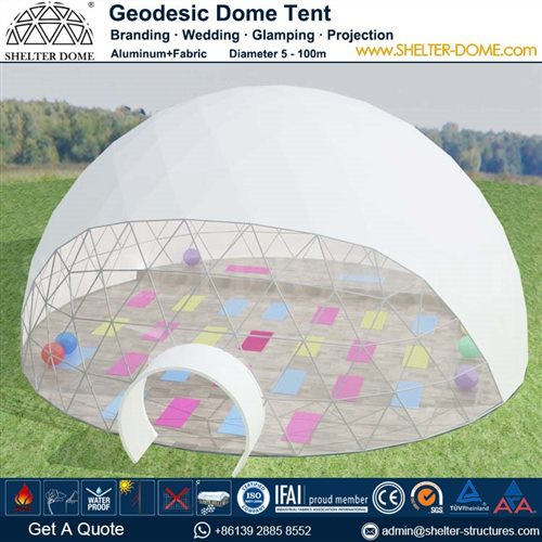 yoga-dome-supplied-for-sports-center-eco-camp-backyard