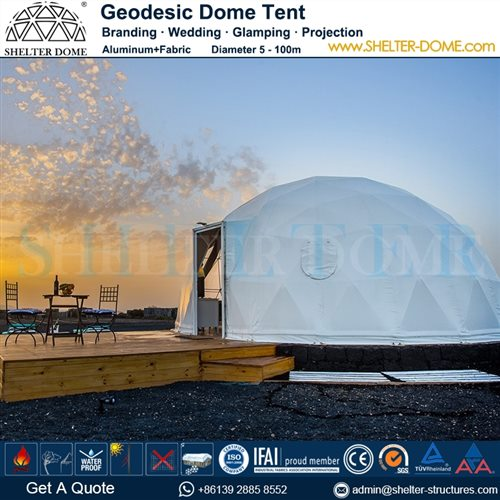 Geodesic Dome House with Kitchen Facilities - Geodome Tent Sale