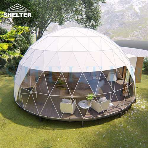 geodesic-dome-house-with-kitchen-facilities-geodome-tent-sale