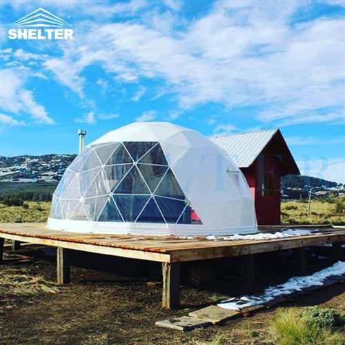 6m Snow Igloo Tent House with Insulation System