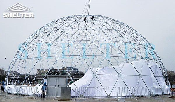 how to build projection dome