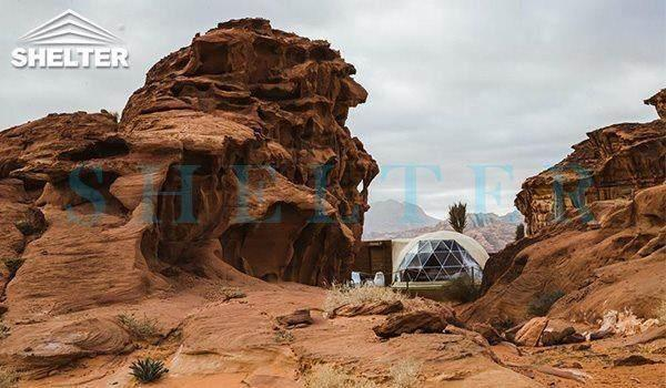 5m glamping dome tents-Wadi Rum-shelter dome-shelter domos