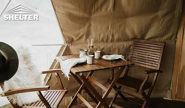 Glamping dome tent provides hotel-like comfort-glamping dome-Shelter Dome (1)_Jc