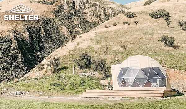 Glamping dome tent provides hotel-like comfort-glamping dome-Shelter Dome (2)_Jc