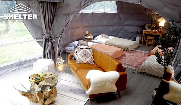glamping doem-geodesic dome-Shelter Dome-Shelter Domos (2)