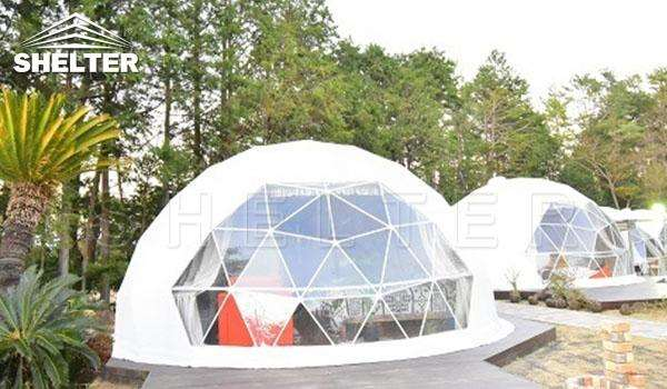 Hotel Domes With Full Facilities Geodesic Dome For Sale-glamping dome-Shelter Dome (1)
