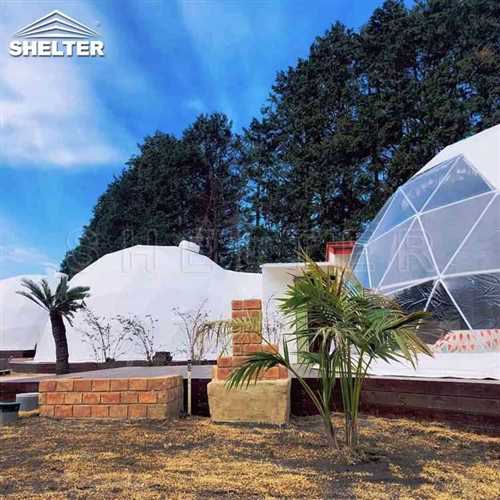 Hotel Domes With Full Facilities : Geodesic Dome For Sale
