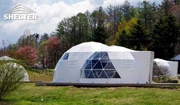 geodesic dome-glamping dome-dome tent-geodome-geodesic dome home-Shelter Dome (3)