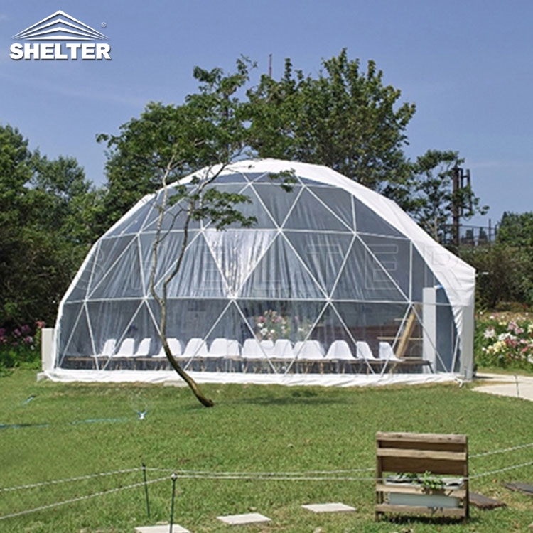10m Dome Tent Make Your Tour Special