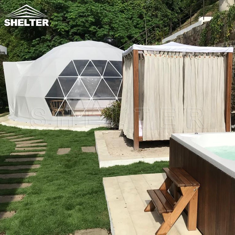 Geodesic Glamping Domes - Alternative Accommodation