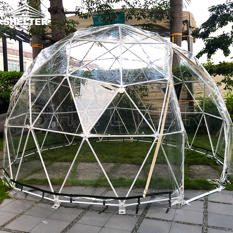 4m Transparent Dome — Social Distancing Solution